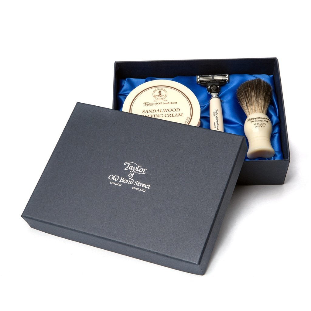 No. 74 Sandalwood Satin Lined Gift Box - BUYBARBER.COM