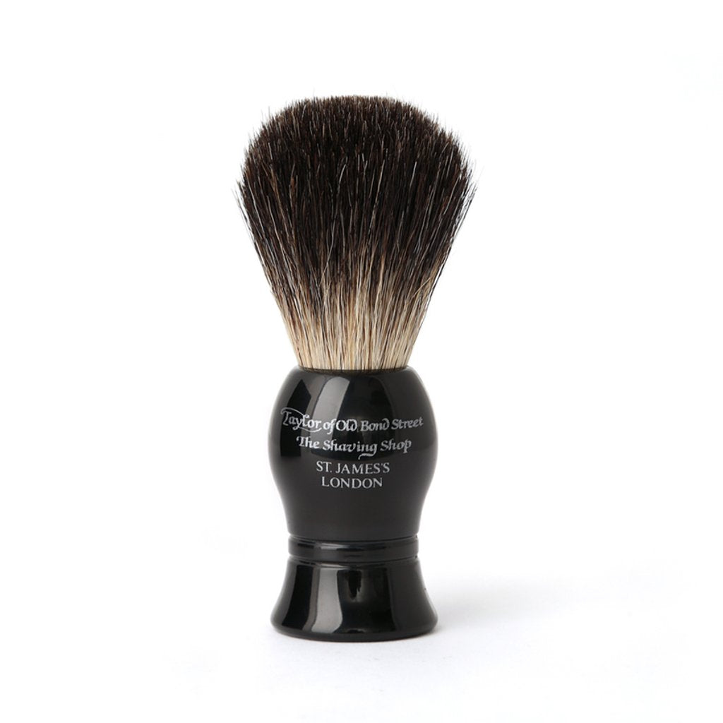 Pure Badger Brush Black 21mm - BUYBARBER.COM