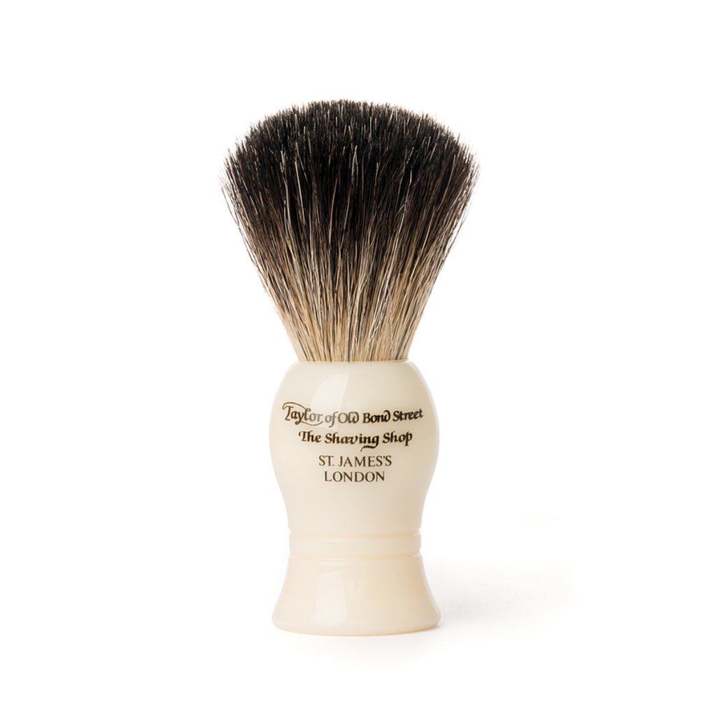 Pure Badger Brush Ivory 21mm - BUYBARBER.COM