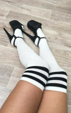 Striped Kneehigh Socks