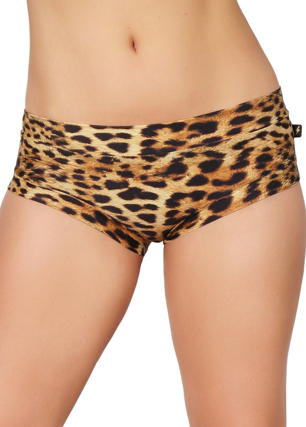 Leopard Hot Pants