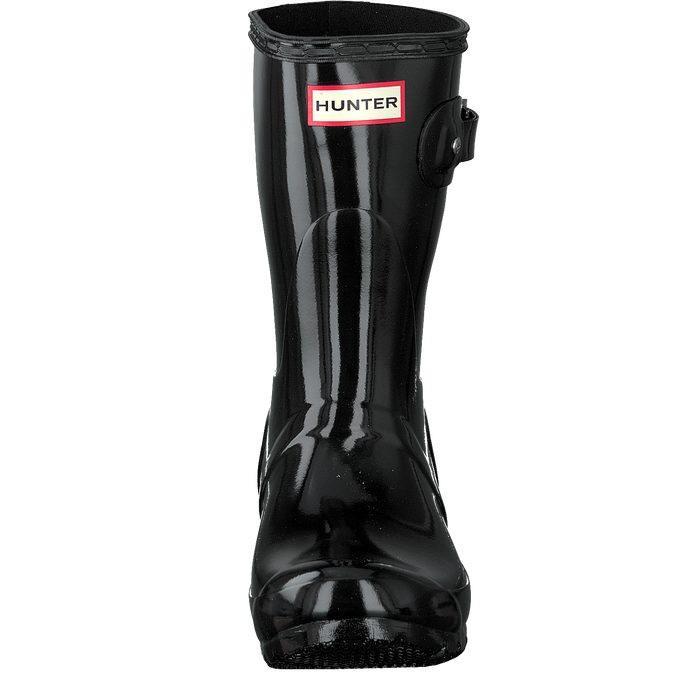 HUNTER DAMENSCHUHE - STIEFEL, STIEFEL WMN ORIGINAL SHORT GLOSS