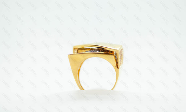 Women Ring 2019 Italian Design, 21K Real Gold! - Doody Jewelry - 21k Gold Canada, USA, Toronto and Mississauga