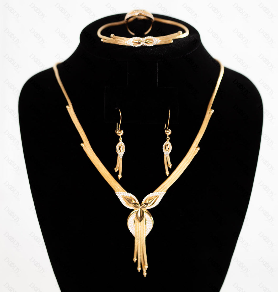 21K Real Gold Set, 2019 Italian Design! - Doody Jewelry - 21k Gold Canada, USA, Toronto and Mississauga