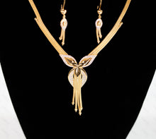 Load image into Gallery viewer, 21K Real Gold Set, 2019 Italian Design! - Doody Jewelry - 21k Gold Canada, USA, Toronto and Mississauga