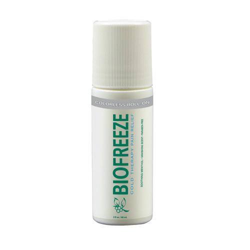 Biofreeze - 3oz Roll-On Dye-Free Prof Version