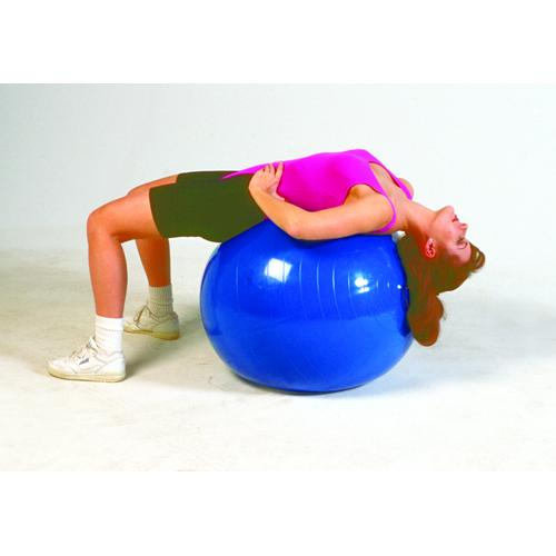 Inflatable PT Ball- 22in 55 Cm- Orange