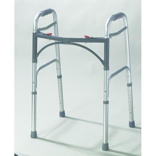 Easy-Release 2 Button Folding Walker Adult