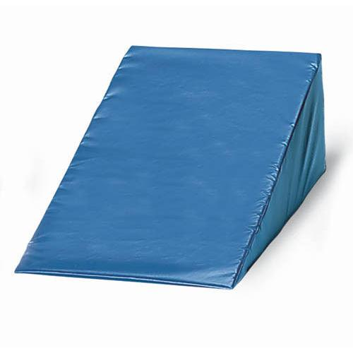 Vinyl Covered Foam Wedge 6 h x 24 w x 28 l  Navy