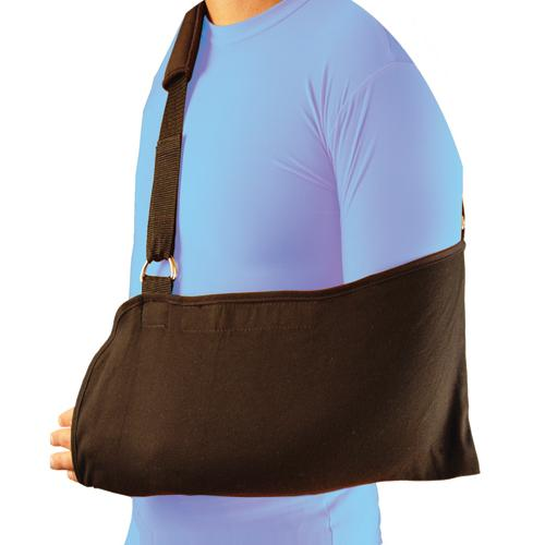 Bell-Horn Arm Sling  Padded Black w/Shoulder Strap-Univ