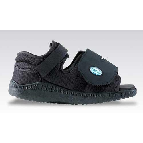 Darco Med-Surg Shoe Black Square-Toe Pediatric