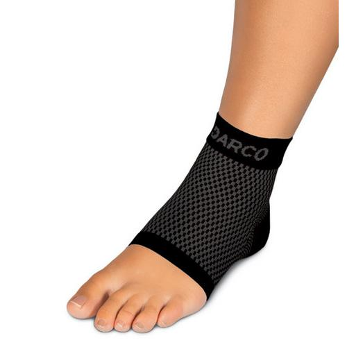 DCS Plantar Fasciitis Sleeve Small-Wm 4-6.5/Men 3-5.5 Black