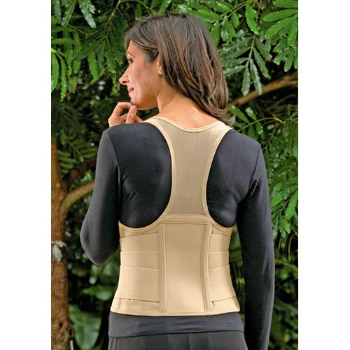 Cincher Female Back Support XX-Large Tan