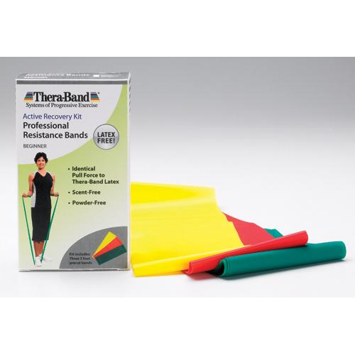 Thera-Band 5' Combo Pack- Light  Latex-Free