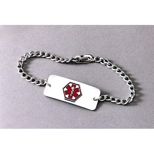 Medical Identification Jewelry-Bracelet- Blank