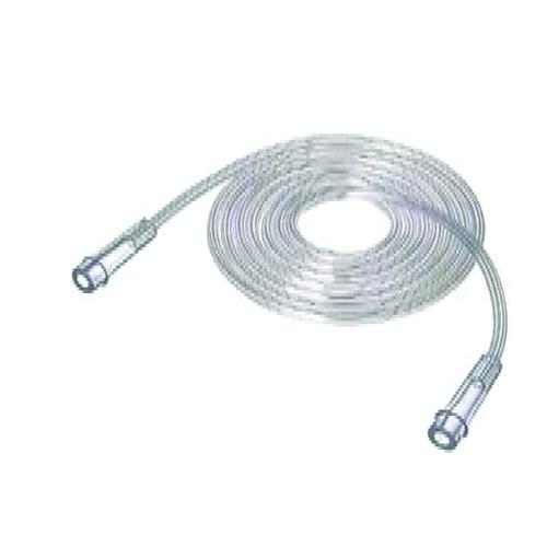 Oxygen Tubing 7' Star Lumen Clear  Latex-free  (Each)