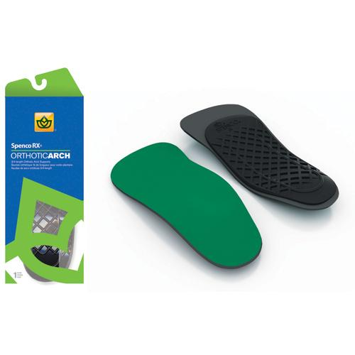 Orthotic Arch Supports 3/4 Length Size W 9-10  M 8-9