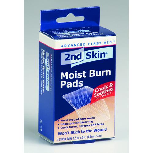 Spenco 2nd Skin Burn Pad 1.5  x 2    Bx/6