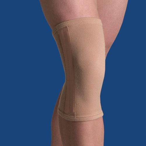 Elastic Knee Stabilizer  Beige Small 12  - 13.5