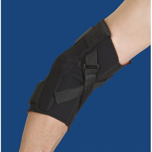 Thermoskin Hinged Elbow Large  Black