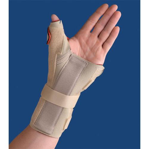 Carpal Tunnel Brace w/Thumb Spica  Left  Beige L/XL