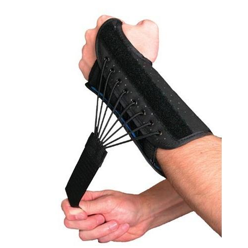 Wrist Splint w/Bungee Closure Left  Large