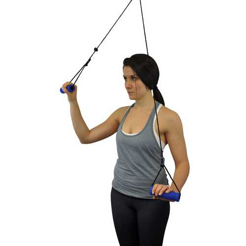 Overdoor Shoulder Pulley With Straps  Blue Jay Brand