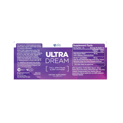 UltraDream - Full Spectrum Sleep Support 2oz (60mL)