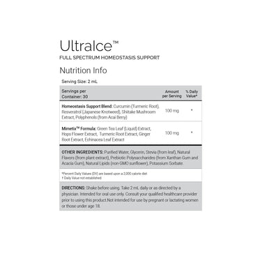 UltraICE Full Spectrum Homeostasis Support 2oz (60mL)