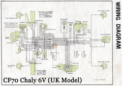 honda chaly 6v cf50 cf70 shire bikes parts accesories suitable rh shirebikes co uk Honda Civic Wiring Schematics 2002 Honda CR-V Wire Harness Diagram