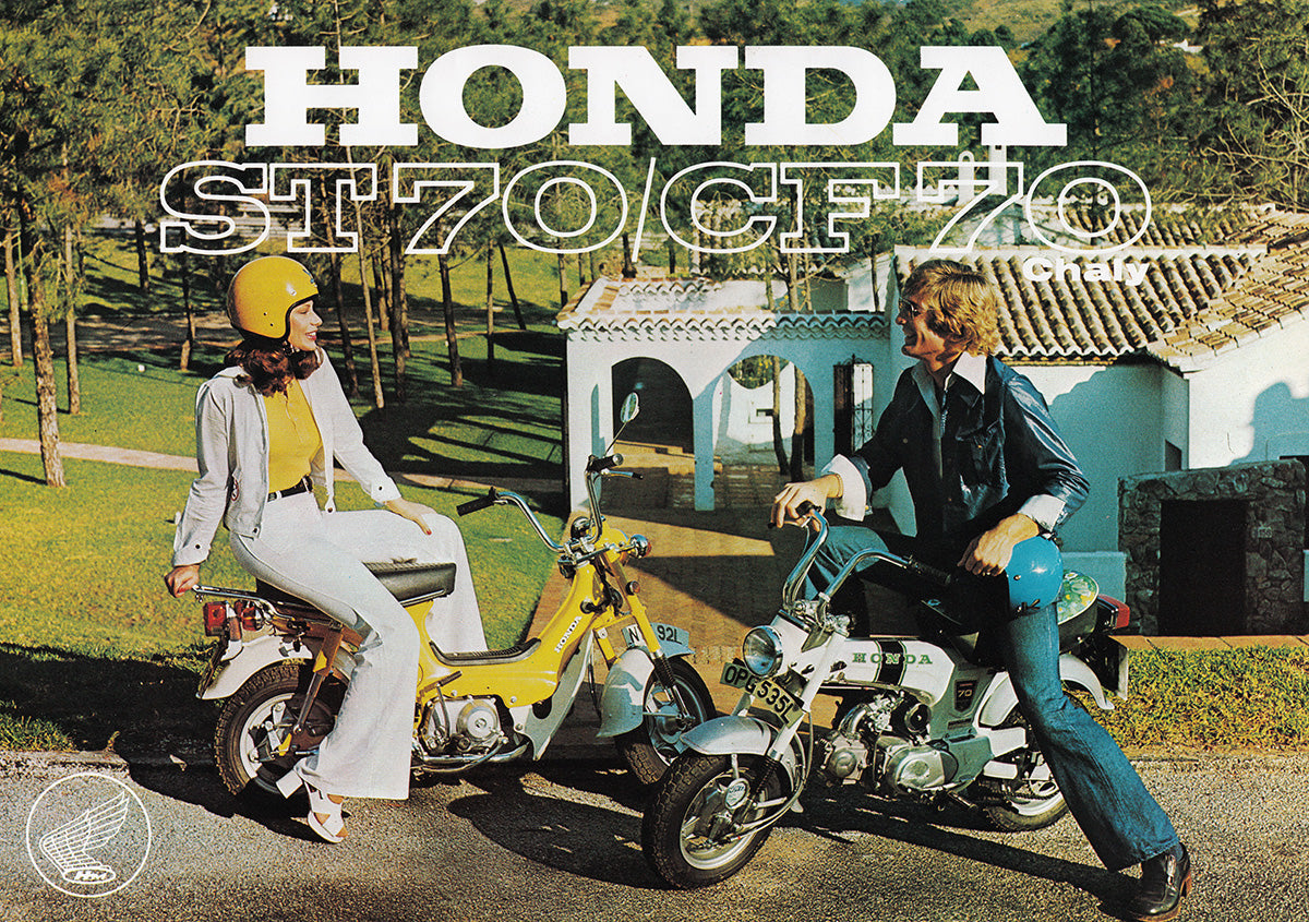 Honda Dax 6v St50 St70 Shire Bikes Parts Accesories Suitable Wiring Diagram