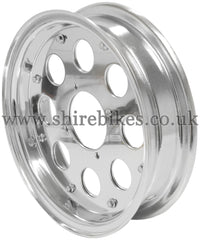 8 x 2.75 Custom Aluminium Wheel suitable for use with Monkey Bike Motorcycles