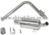 Custom Big Bore Trail Exhaust suitable for use with Honda Z50A