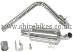 Custom Big Bore Trail Exhaust *Imperfections* suitable for use with Honda Z50A