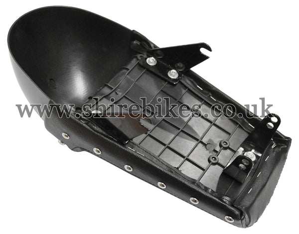 Custom Cafe Racer Black Seat suitable for use with Monkey Bike Motorcycles