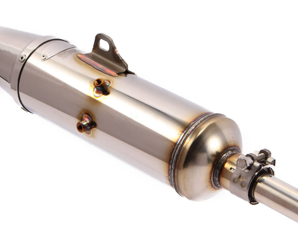 Takegawa Standard Look Stainless Exhaust suitable for use with Dax 6V, Dax 12V