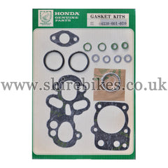 Honda 49cc Top End Gasket Set suitable for use with CZ100