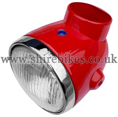 Reproduction Red Head Light Unit suitable for use with Z50A, Z50J1