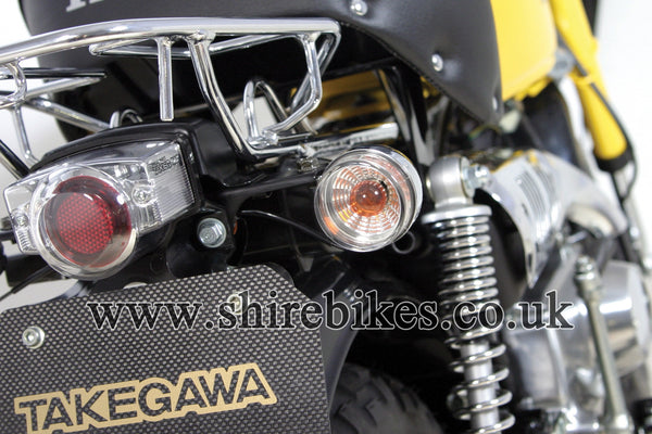 Takegawa Clear Blaze Indicator Lens & 12V Bulbs (Pair) suitable for use with Z50J