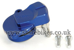 Takegawa Blue Oil Take Off Plate suitable for use with Honda Dream 50