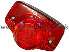 Economy Reproduction Rear Light suitable for use with Dax 6V (UK & Norwegian Model), Chaly 6V (UK & French Model)