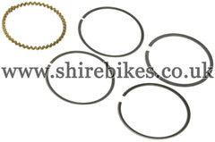 Honda 39mm (Standard Size) Piston Rings suitable for use with Z50J 12V, Dax 12V