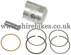 Reproduction 47mm (Standard Size) Piston & Rings Set suitable for use with Dax ST70 6V, Chaly CF70 6V