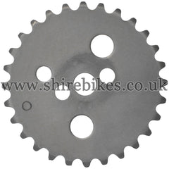 Honda 2 Bolt Camshaft Sprocket suitable for use with Z50J 12V, Dax 12V, C90E