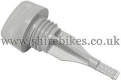 Honda Grey Plastic Oil Dipstick suitable for use with Z50M, Z50A, Z50J1, Z50R, Z50J, Dax 6V, Dax 12V, Chaly 6V