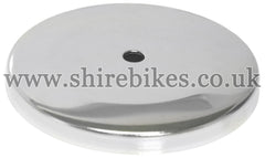 Honda Chrome Air Filter Cover suitable for use with Z50M, Dax 6V, Dax 12V