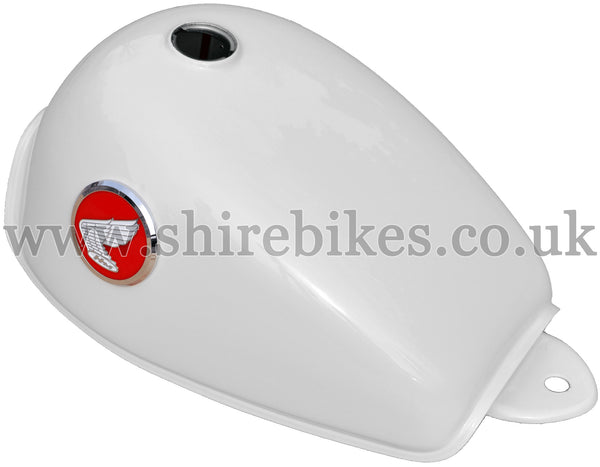 Honda Cream Red Badge Tank suitable for use with Z50J (30th Limited)