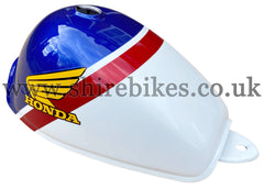 Honda Blue, Red & White Tank suitable for use with Z50J