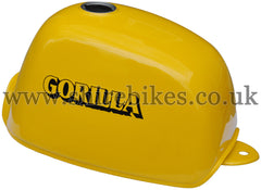 Honda Yellow Fuel Tank suitable for use with Z50J (Gorilla)