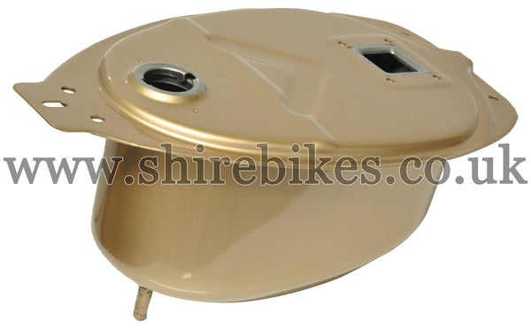 Honda Gold Fuel Tank suitable for use with C90E